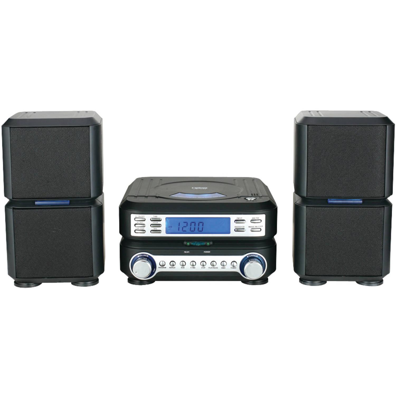 Naxa Nsm438 Digital CD Micro System with AM/FM Radio