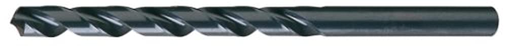Pack of 1 x 8 Lg 3//16 Dia 118 Degree Notched Point Cleveland 950E High Speed Steel Extra Long Length Drill Bit Round Shank Black Oxide