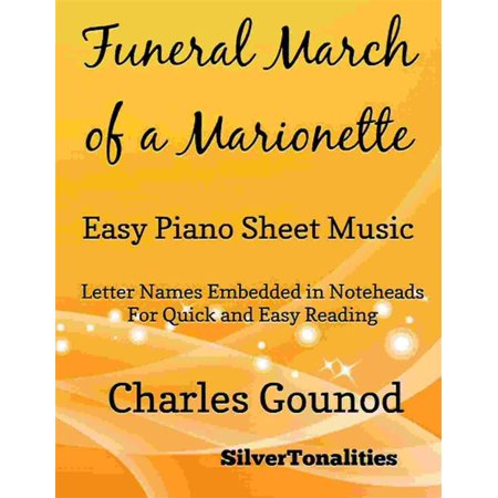 Funeral March of a Marionette Easy Piano Sheet Music - eBook (Halloween Funeral March)