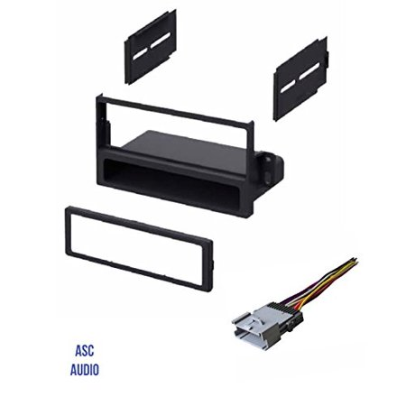 asc car stereo dash install kit and wire harness for. Black Bedroom Furniture Sets. Home Design Ideas