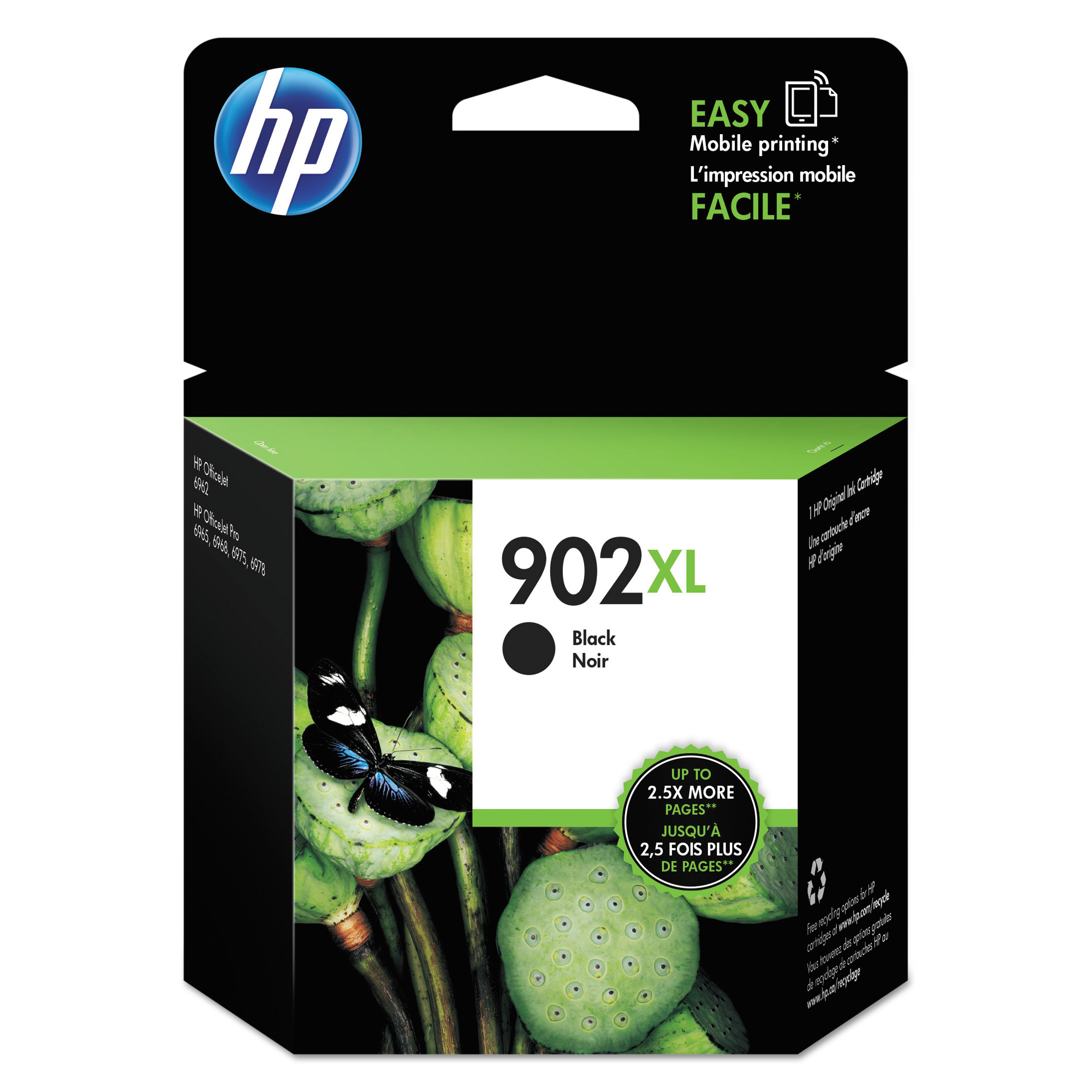 HP 902XL Black ink cartridge (T6M14AN)