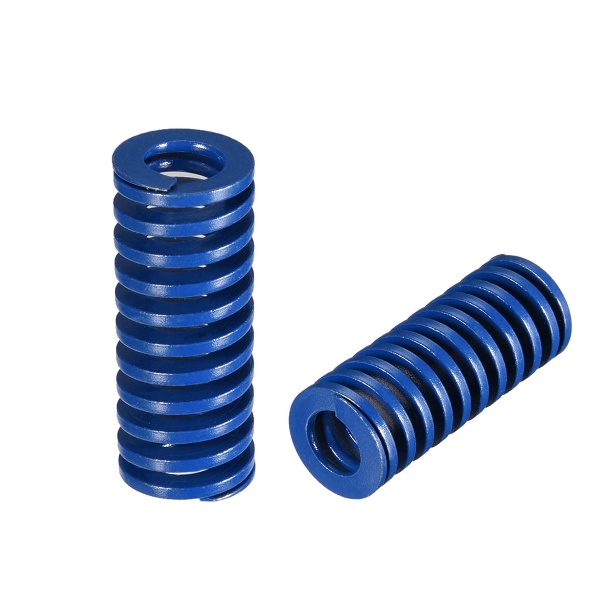 16mm OD 40mm Long Spiral Stamping Light Load Compression Mould Die Spring Blue 10Pcs - image 3 of 3