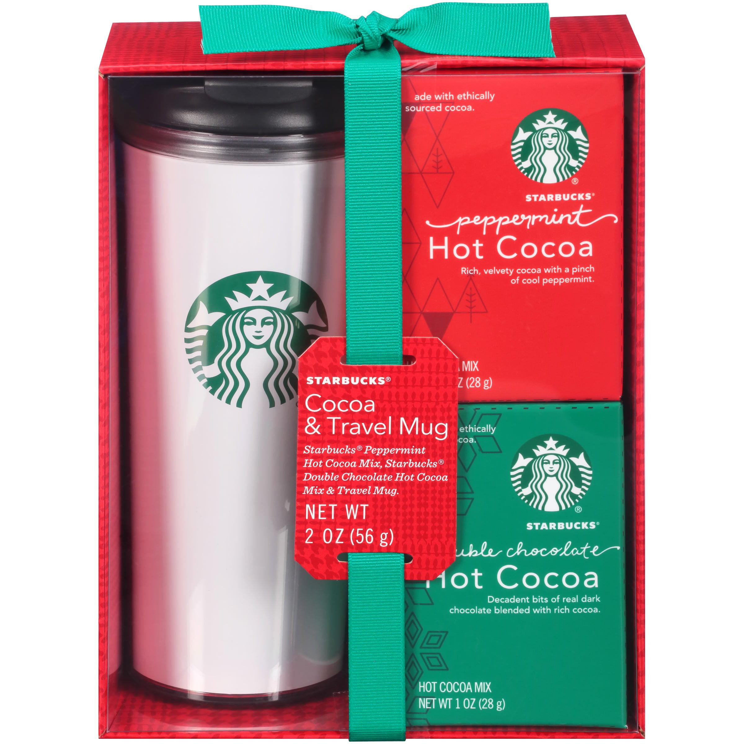 Starbucks 174 Cocoa Amp Travel Mug Holiday Gift Set 3 Pc Box