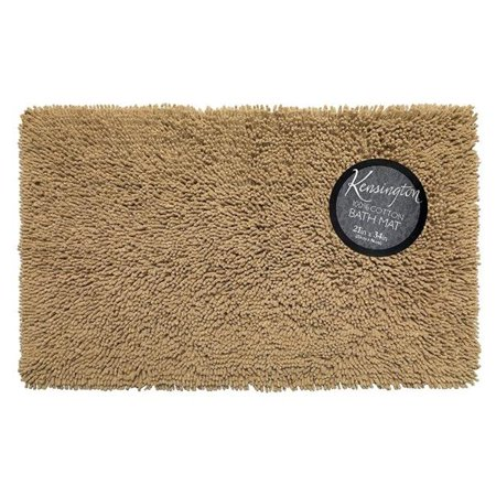 - BM-M3L-44 Shaggy Cotton Chenille Bath Room Rug, Linen