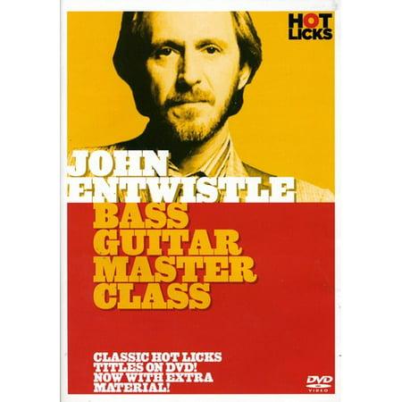 Bass Guitar Master Class (Hand Bass Techniques Dvd)