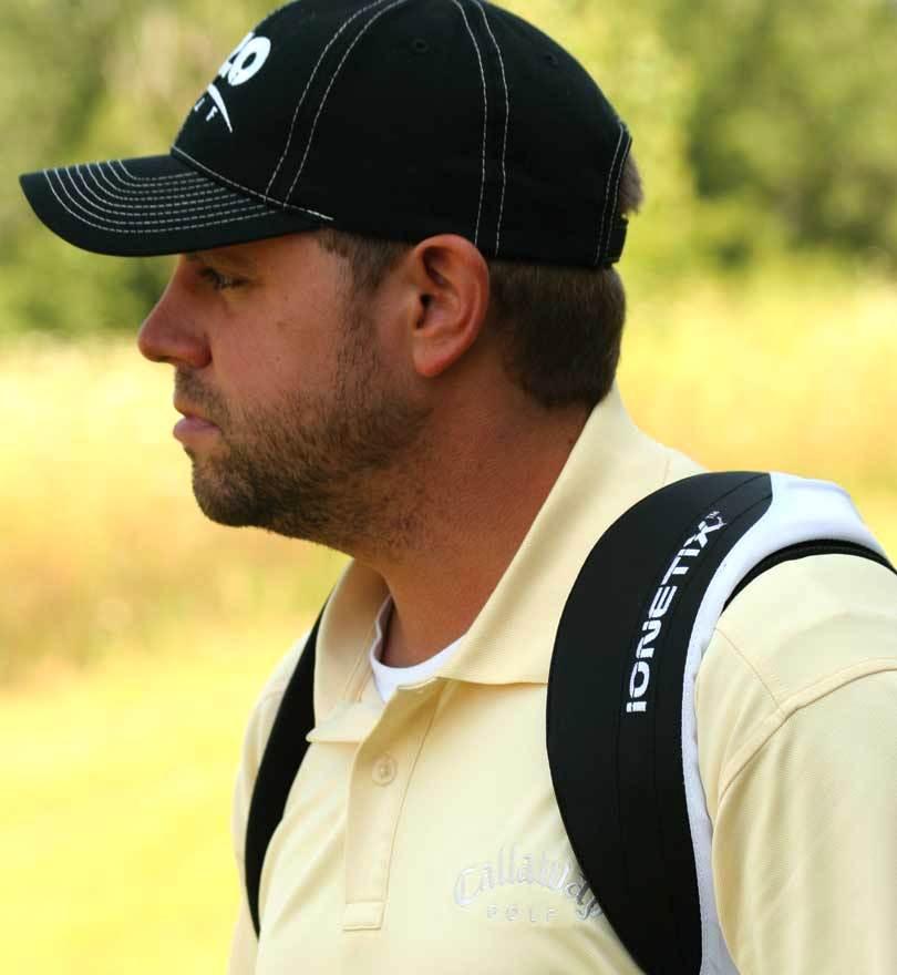 IZZO Golf Ionetix Dual Carry Bag Strap