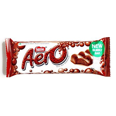 Nestle Chocolate Bars Halloween (Nestle Aero Milk Chocolate Bar 1.4 oz (1 Item Per)