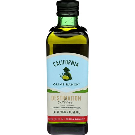 California Olive Ranch Rich & Robust Extra Virgin Olive Oil (Destination Series), 16.9 FL