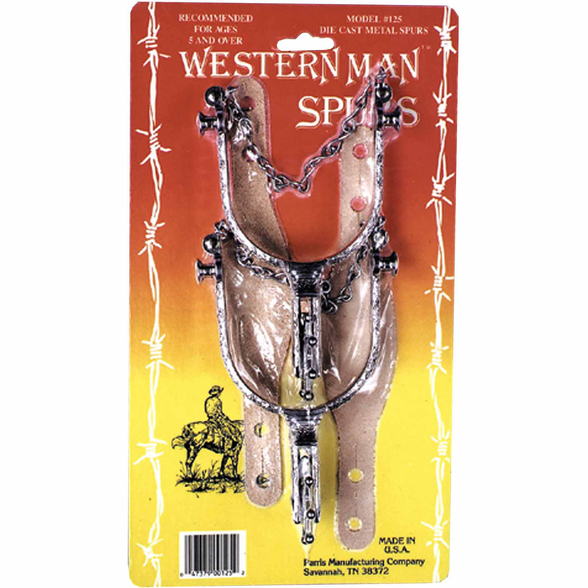 Western Spurs Adult Halloween Accessory