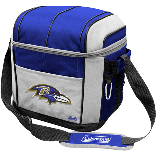 "Coleman 11"" x 9"" x 13"" 24-Can Cooler, Baltimore Ravens"