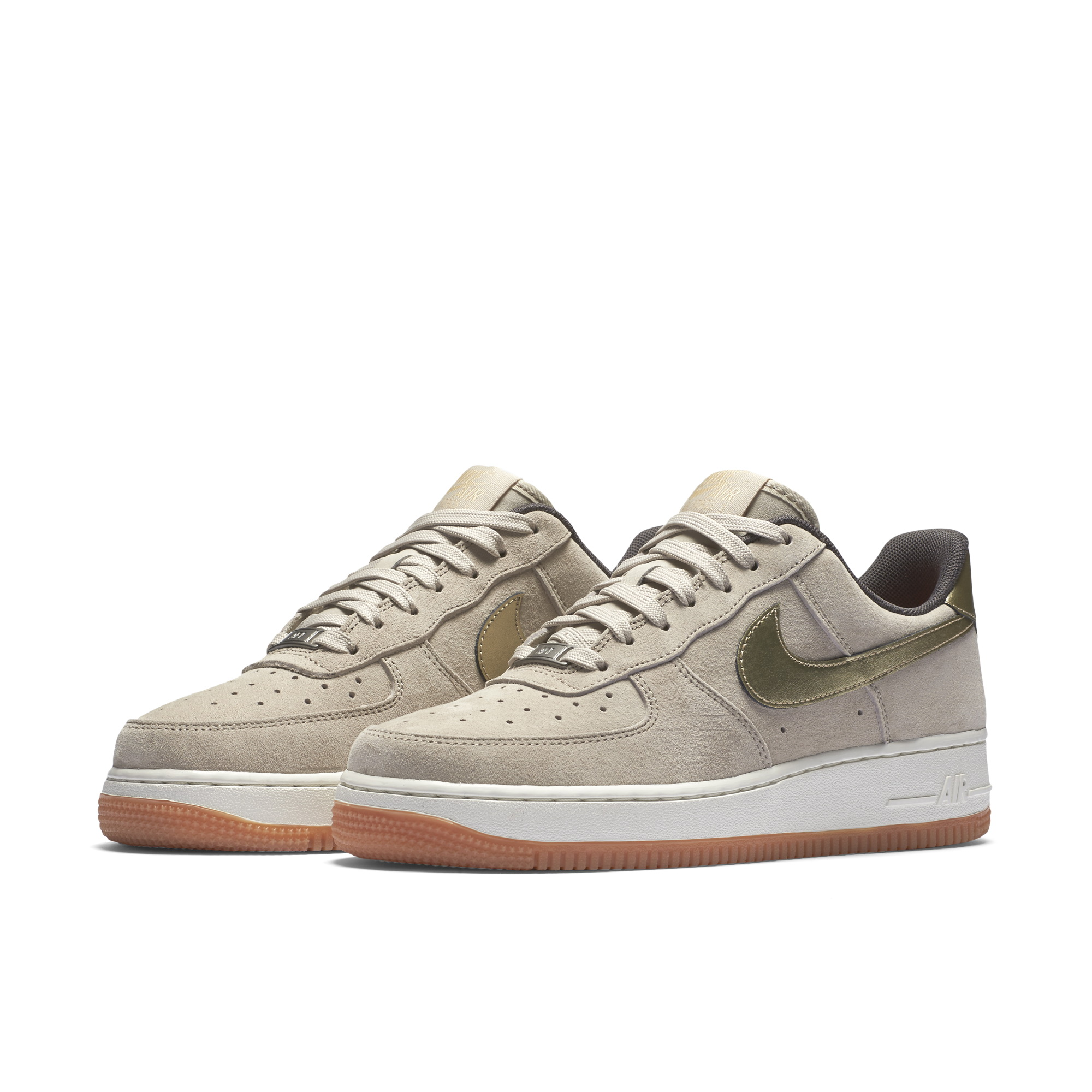 Nike W AIR FORCE 1 '07 PRM SUEDE WOMENS SNEAKERS 818595-200