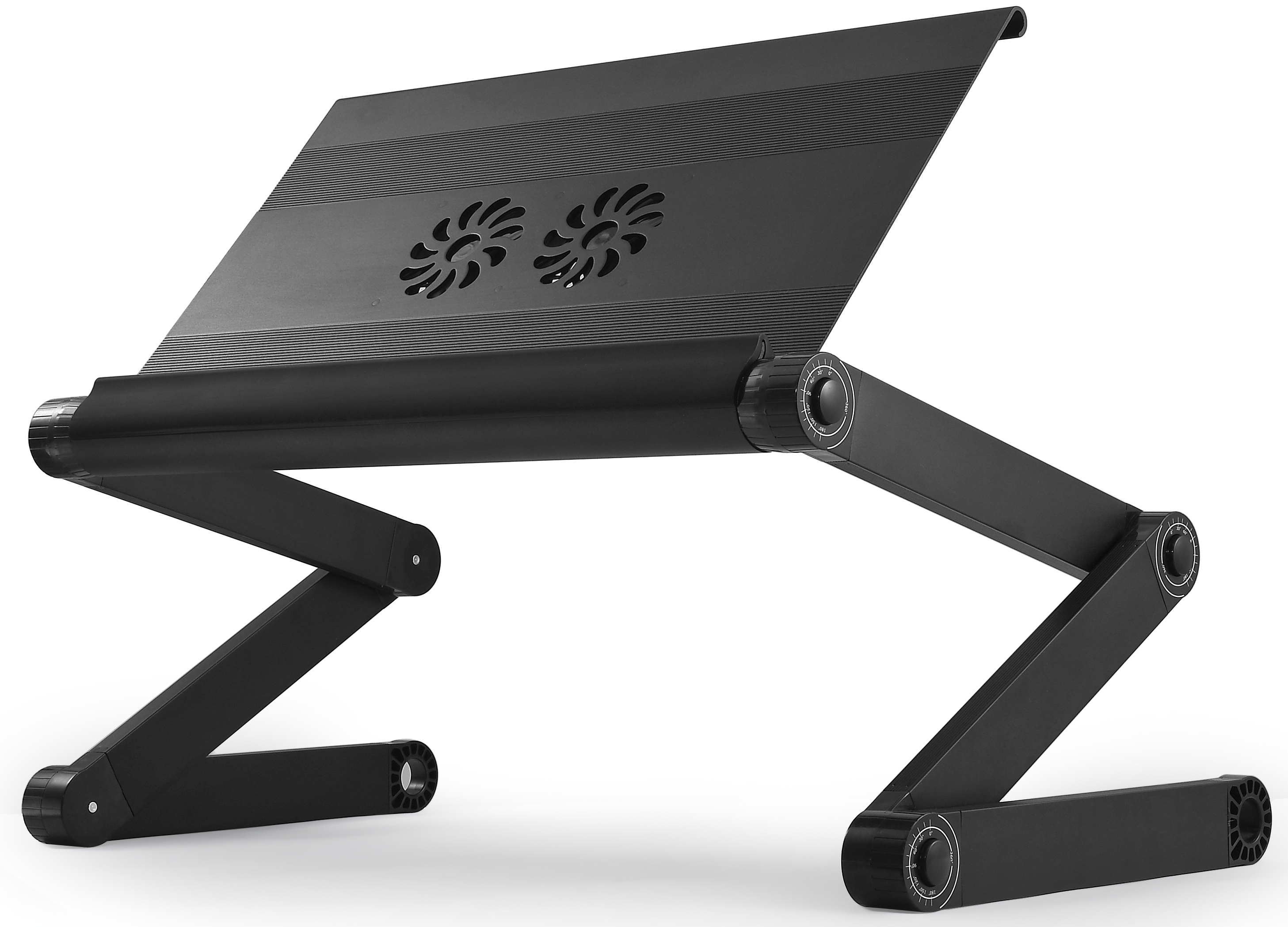 Workez Executive Adjustable Ergonomic Laptop Cooling Stand