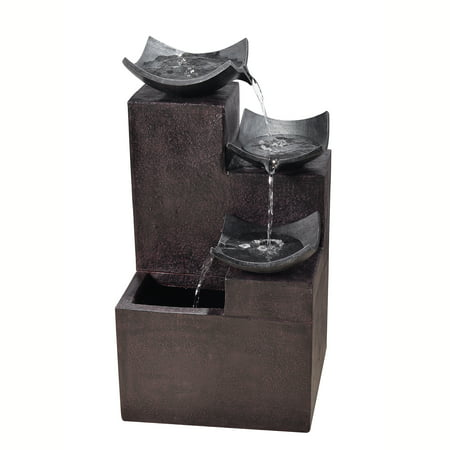 Peaktop - Outdoor Modern Tiered Zen Fountain ()