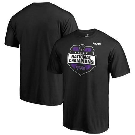 TCU Horned Frogs Fanatics Branded 2019 NCAA Rifle National Champions T-Shirt -
