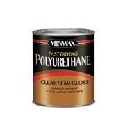Minwax Fast Drying Polyurethane Clear Semi-Gloss 1/2 Pint