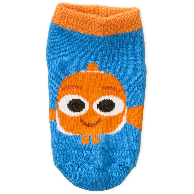 Finding Dory Toddler Boy or Girl Unisex Quarter Socks, 3-Pack