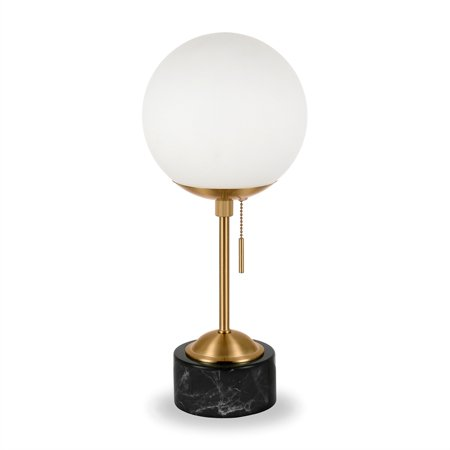 Art Deco Marble Table Lamp - image 10 of 10