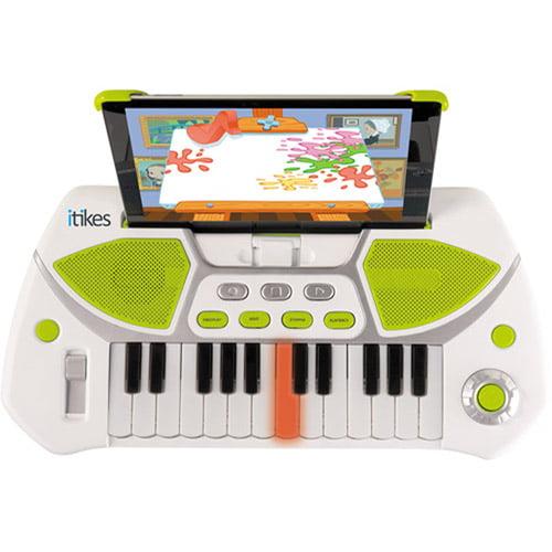 MGA Entertainment Little Tikes iTikes Keyboard, White/Blue