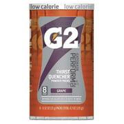 Gatorade Sports Drink Mix Powder, Grape 0.52 oz., PK8, 131673