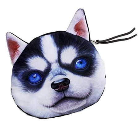 Cute 3D Print Husky Purse Crossbody Small Bag (KT00071) Top Quality NEW](Cute Crosses)