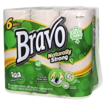Paper Towels: Bravo Naturally Strong