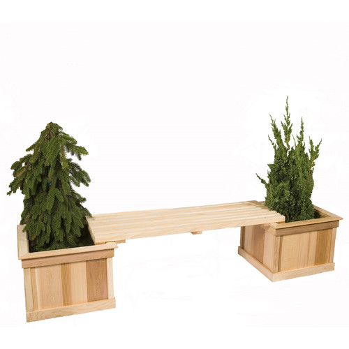 Baltic Leisure 2-Piece Wood Planter Box Set