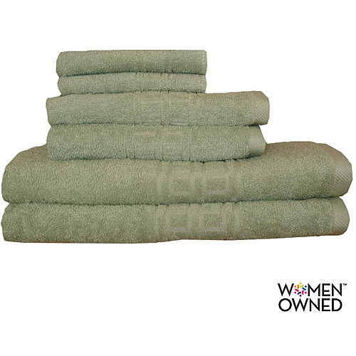 Generic Revere Mills Soho Oversized Super Soft Ringspun Cotton 6 - Piece Towel Set