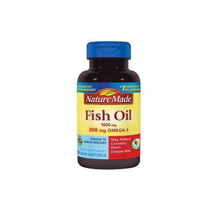 Nature Made Fish Oil 1000 Mg Liquid Softgels 90 Ea Pack