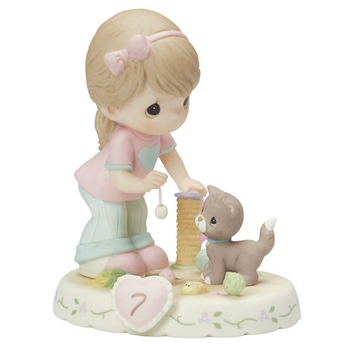 Precious Moments Growing in Grace Age 7 Figurine by Precious Moments
