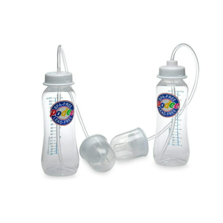 Hands-Free Baby Bottle Feeding System (Twin Pack), Helps prevent colic and gas build up By (Best Bottles For Colic And Gas)