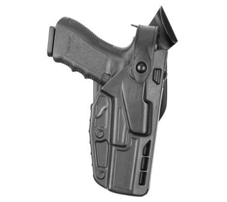 Safariland 7360 7TS ALS SLS Mid-Ride Level-III Retention Duty Holster, Glock 17, by SAFARILAND