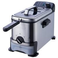 Farberware 3-Liter Filter Fryer, Stainless Steel
