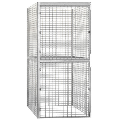Salsbury Industries 2 Tier 1 Wide Storage Locker