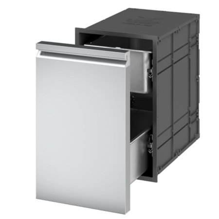Ronda Insulated Double Drawer Units with One Single Front
