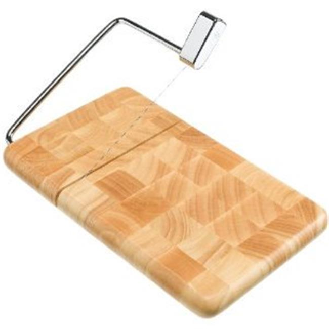 Butcher Block Cheese Slicer End Grain Beechwood -