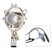 Univerdal Condenser Microphone Mic Shock Mount Holder Bracket Anti-vibration for On-line Broadcasting Studio Music Recording