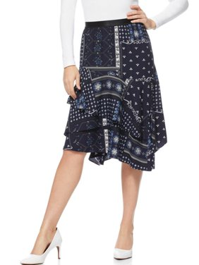 Scoop Ruffle Tiered Skirt Women's