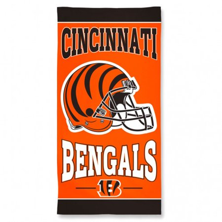 Cincinnati bengals beach towel for Bengalas 50 cm