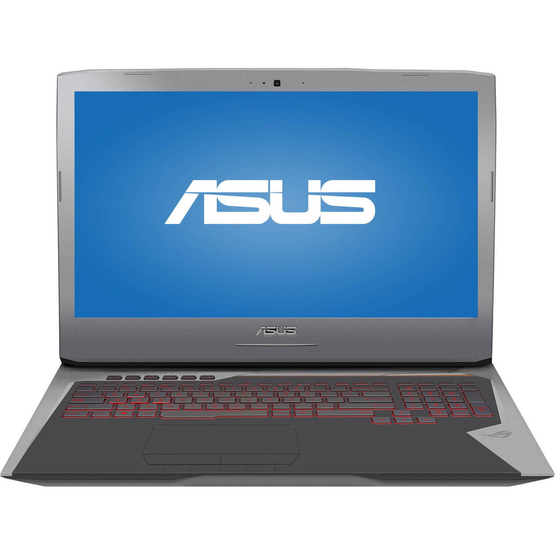 "ASUS Copper Silver 17.3"" G752VT-RH71 Laptop PC with Intel Core i7-6700HQ Processor, 16GB Memory, 1TB Hard Drive and Windows 10"