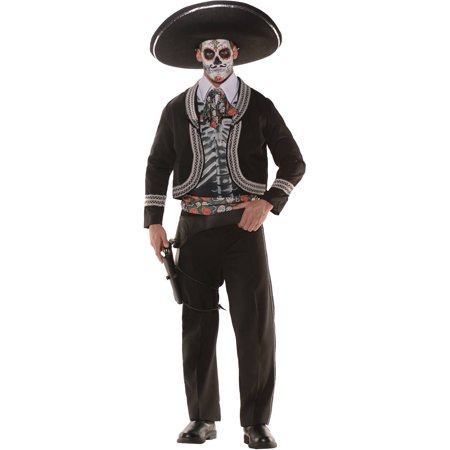 Day Of The Dead Men's Adult Halloween Costume (Dead Or Alive 5 Halloween Costumes)
