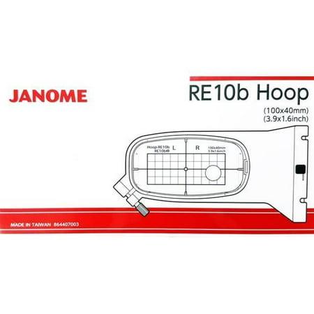Janome Hoop - Janome RE10B 1.5†x 5.5†Embroidery Hoop fits MC500E and MC400E