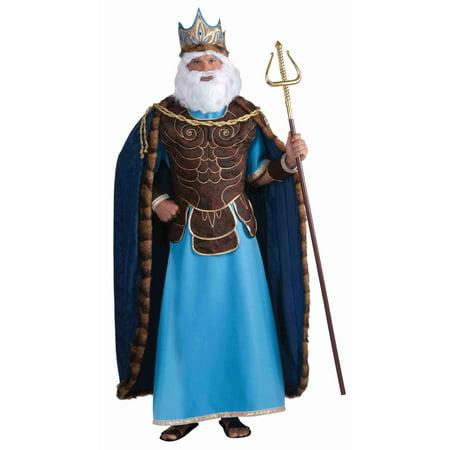 Mens King Neptune Costume