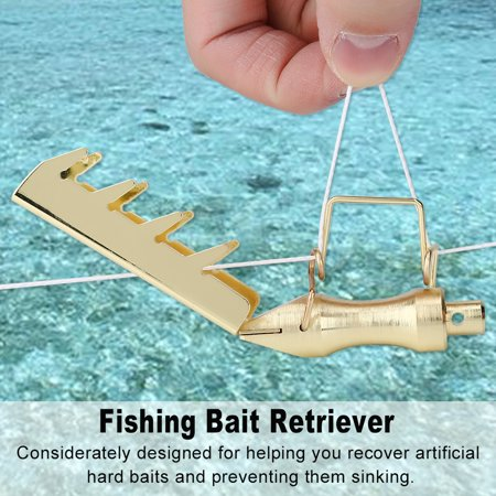 Hilitand New Durable Fishing Bait Retriever Seeker Lure Saving Tackle with 30m PE Line          ,Fishing Lures Retriever, Fishing Bait Retriever
