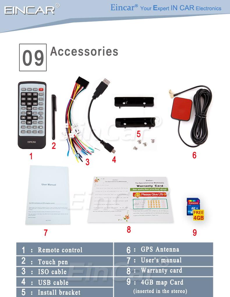 ... MP4 Audio Car Radio Stereo System Multimedia CD Vehicle Accessory Video  Receiver Autoradio FM AM Universal 2 Din logo iPod win 8 Remote control Aux  ...