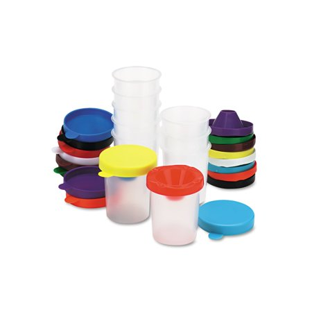 Discount Cups (Branded Chenille Kraft® No-Spill Paint Cups 10/Set Pack of 1 [Qty Discount / wholesale)