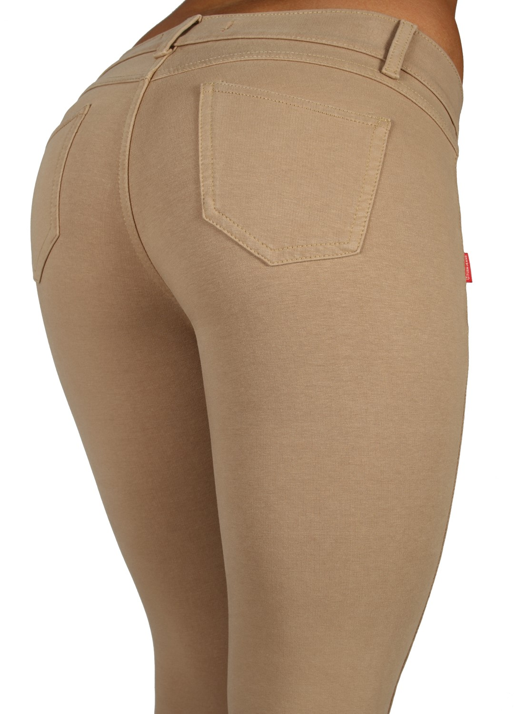 U-Turn Jeans Basic Skinny Leg Super Stretch Premium Cotton Jeggings