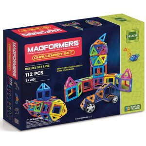 Magformers Challenger 112-Piece Magnetic Construction Set
