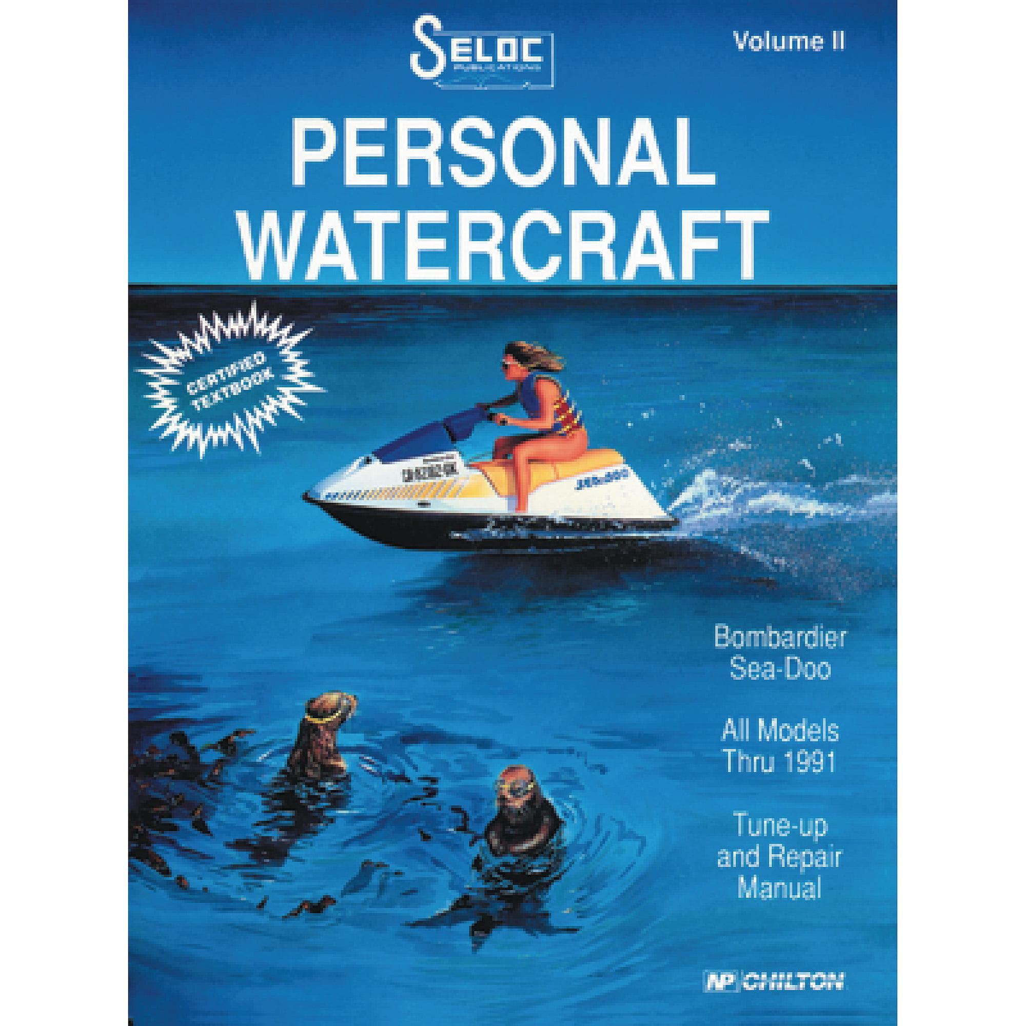 Seloc Marine Manual for Sea-Doo/Bombardier Personal Watercraft - Walmart.com