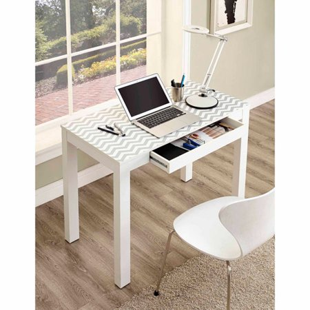 Ameriwood Home Parsons Desk with Drawer, Multiple Colors