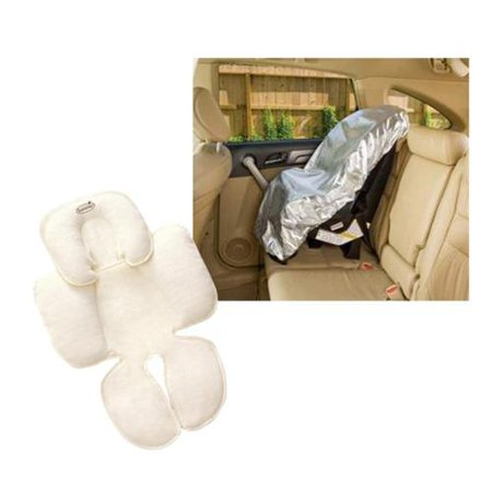 Mommy's Helper Car Seat Sun Shade with Summer Infant Snuzzler
